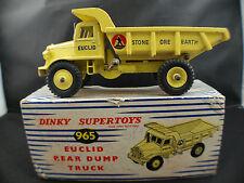 Dinky Toys GB n° 965 Camion euclid rear Dump Truck en boite