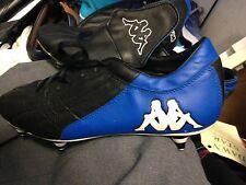 KAPPA FOOTBALL BOOTS SIZE 8 UK BNWL AT £20 BLACK /BLUE PRO BOOT