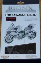 H2R Kawasaki Ninja ICONX 3D Laser Cut Metal Model Kit Fascinations ICX021