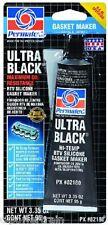 Permatex Ultra Black Maximum Oil Resistance RTV Silicone Gasket Maker OEM Spec