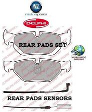 FOR BMW 320D SPORT DIESEL E93 3/2007--> REAR BRAKE DISC PADS SET + PADS SENSORS