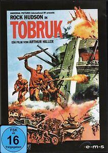 Tobruk , Kriegsfilm Klassiker mit Rock Hudson , DVD , NEU und verschweißt !