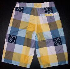 e4b0f68e1a Ecko Unlimited Swimsuit Swim Trunks M 27x10.5 Blue Purple Yellow p3157