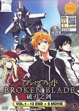 BREAK BROKEN BLADE Complete Anime TV Series Ep.1 - 12 PLUS 6 Movies DVD Box Set