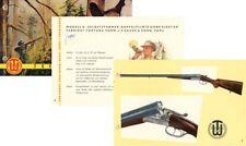 Suhl 1955 VEB Jagdwaffen Katalog