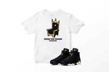 Watch The Throne Graphic T-Shirt to Match Air Jordan 6 Retro DMP SM-7XL