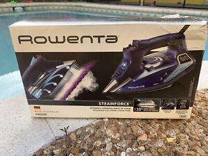 NEW!! Rowenta STEAMFORCE 1800W Steam Iron w/Auto Shut Off DW9280 (3249)