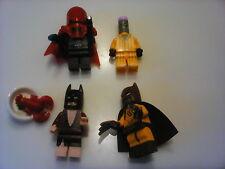 lego batman move minfigure lot lobster batman red hood weapon x batman