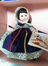Madame Alexander Canada 560 Vintage Doll, In original  Box .Rare print