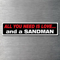 All you need is a Sandman premium 10 year vinyl water/fade proof Holden