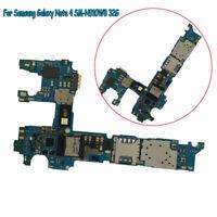 Main Motherboard Logic Board For Samsung Galaxy Note4 SM-N910W8 32G Unlocked BUS
