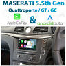 Maserati Quattroporte / GT / GranCabrio Mk5.5 Integrated CarPlay / Android Auto