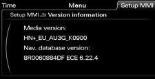 Audi MMI 3G Plus HN+ Navi Update - A1 A4 A5 A6 A7 A8 Q3 Q5 Q7 Europa 2016/17