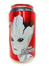 2018 COCA-COLA MEXICO AVENGERS INFINITY WAR SPECIAL EDITION SODA CAN: GROOT