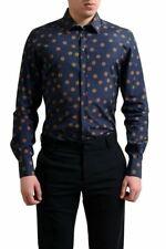 "Dolce & Gabbana ""Gold"" Men's Multi-Color Polka Dot Dress Shirt US 16 IT 41"