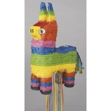 Burro Donkey Mexican Rainbow Party Pull String Pinata %7c Game %7c Decoration