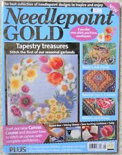 Needlepoint Gold No. 5 Tapestry Treasures From The Uk Beautiful Patterns