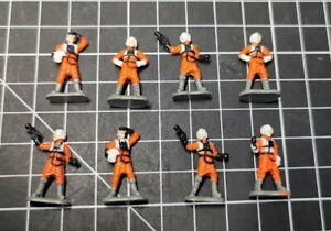 Micro Machines - Star Wars - Rebel Pilots x8