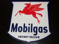 """10"""" Mobil Pegasus Socony Gas and Oil Collectible Wall Hanging 1 of a Kind 3D"""
