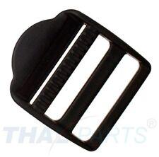 10 Stück Leitersteg 30mm Acetal Schieber Regulator für Gurtband Verstellschieber