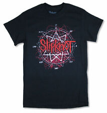 Slipknot Scratched Logo Black T Shirt NEW. OFFICIAL