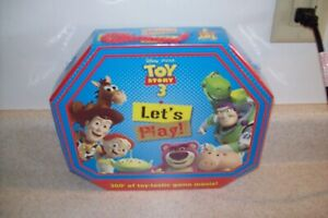 Disney~Pixar Toy Story 3  Let's Play! Hands on Activity/Game Box New 3197
