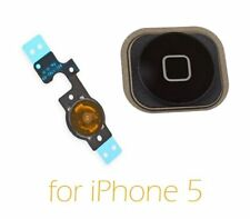 Replacement For  Black iPhone 5 Home Button Key with Flex Cable Assembly