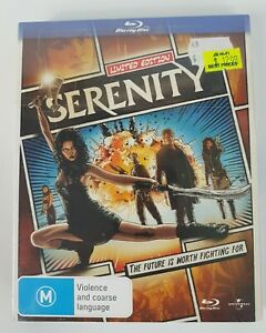 Limited Edition Serenity Bluray Brand New and Sealed
