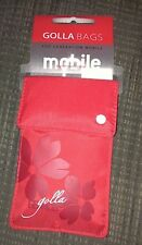 Golla Red Phone Case Pouch Bag For iPhone 4S 5 5S Samsung Galaxy S2 S3 Mini NEW