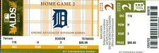 2011 Tigers vs Yankees ALDS Playoffs Game #4 Ticket: AJ Burnett win/Martinez HR