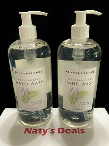 PEARLESSENCE Lot of 2  LAVENDER COCONUT MOISTURIZING HAND WASH 16 0z Each