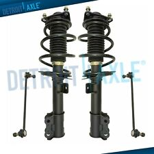 Front Struts & Coil Spring Assembly + Sway Bars for 2011 Sonata GLS Limited 2.4L