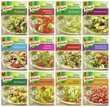 Salat Kronung Salad Herbs from Knorr Germany 12 diff. flavors, 6x5 flavors=30pcs