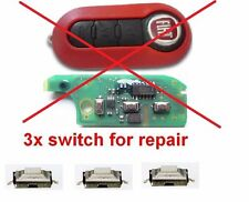 fiat 500 punto bravo brava ducato panda idea doblo REMOTE KEY FOB SWITCH BUTTON