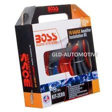BOSS Audio KIT-ZERO 10 Cavi RCA e Alimentazione Completo per Amplificatore Subwoofer Auto - Multicolore