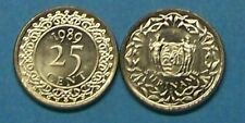 SURINAME  1989  25 CENTS   KM14a   UNCIRCULATED COIN