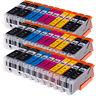 30x Ink Cartridges Canon For PGI550 CLI551 XL MG5450 MG5550 MG6350 iP7250 MG7150
