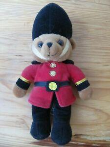 Keel Toys Teddy Bear Bär London Palastwache Guardsman 24 cm Stofftier Plüschtier