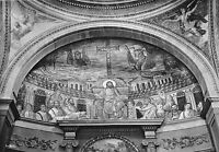 BF34687 roma basilica di s pudenziana mosaico dell abside italy  front/back scan