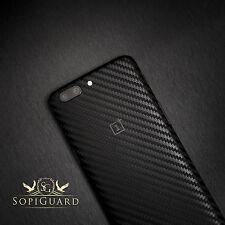 SopiGuard Carbon Fiber Vinyl Skin Full Body Wrap for OnePlus 5