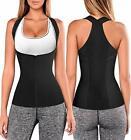 Women Back Braces Posture Corrector Waist Trainer Vest Tummy Control Body Sha...