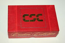 Vintage Box of 9 Titelist #3 CSC Computer Science Ad Golf Balls Unused NOS NEW