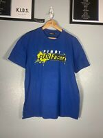 2000 Fear Factor VTG Pinoy Blue Yellow Shirt Tee Large L