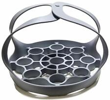 New listing Large Pressure Cooker Sling and Egg Rack (Grey) Gray