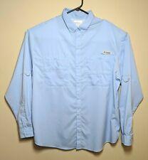 Columbia Pfg Men's Xl Fishing Sportswear Shirt Button Up Long Sleeve