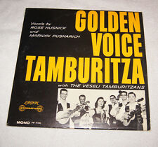 LP : Golden Voice Tamburitza with the Vesel Taburitzans