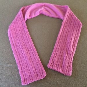 """Girl's Women's Old Navy scarf acrylic wool pink soft one size 54"""" x 5"""""""