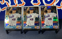 (3) JACOB DEGROM 2015 TOPPS CHROME #183 LOT NY METS ROOKIE OF THE YEAR