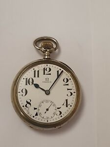 OMEGA Herren Taschenuhr um 1912 läuft