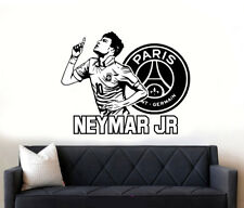 Neymar Jr Football Star PSG Quote Wall Art Sticker  Decals DIY